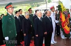 Efectúan acto fúnebre en memoria del presidente vietnamita Tran Dai Quang