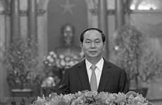 El mundo se suma al luto por deceso del presidente vietnamita