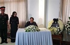 Embajadas de Vietnam en Myanmar y México rinden homenaje póstumo al presidente Tran Dai Quang