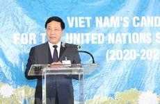 Vietnam convoca a apoyo de países a su candidatura en ONU