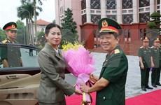 Vietnam y Camboya coinciden en elevar intercambio  de experiencias entre mujeres oficiales
