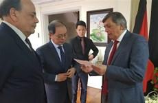 Rinden homenaje a presidente de Vietnam Tran Dai Quang en Chile
