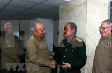 Ejércitos de Vietnam y Cuba fortalecen cooperación económica