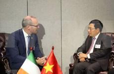 Vietnam promueve nexos con varios países al margen de 73 plenaria de Asamblea General de ONU