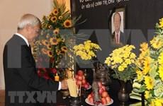 Rinden tributo en España y Venezuela a presidente vietnamita Tran Dai Quang