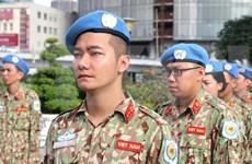 Incorporación de Vietnam a misión de paz: tarea de alto valor de asistencia humanitaria