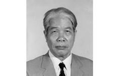 Laos expresa solidaridad a Vietnam por fallecimiento de exdirigente partidista Do Muoi