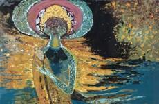 Exposición muestra colores raros en pinturas de laca