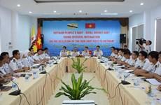 Oficiales jóvenes de Marinas de Vietnam y Brunei intercambian experiencias