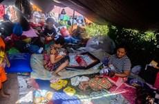 Comunidad internacional ayuda a sobrevivientes del sismo en Indonesia