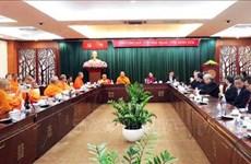 Robustecen nexos entre organizaciones budistas de Vietnam y Tailandia