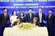 Vietnam Airlines y Vingroup se asocian para ofrecer óptimos servicios a clientes