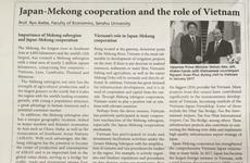 Expertos aprecian papel de Vietnam en cooperación Mekong-Japón