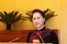 Presidenta del Parlamento vietnamita participará en cita parlamentaria regional en Turquía