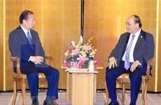 Premier de Vietnam continúa intensa agenda en Japón