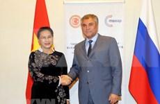 Vietnam y Rusia coinciden en importancia de establecer comité interparlamentario bilateral