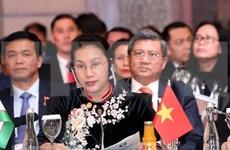 Vietnam exhorta a parlamentos euroasiáticos a respaldar impulso de conectividad económica