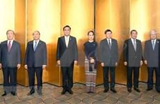 Dirigentes de países del río Mekong se entrevistan con emperadores de Japón