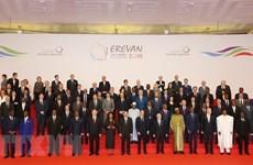 Vietnam asiste a la XVII Cumbre de la Francofonía en Armenia