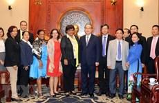 Ciudad Ho Chi Minh y Cuba fomentan cooperación bilateral