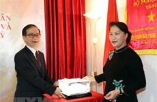 Presidenta del Parlamento vietnamita reafirma apoyo de Hanoi a connacionales en Turquía