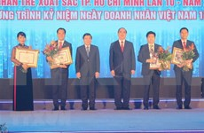 Ciudad Ho Chi Minh honra a empresarios jóvenes destacados en 2018