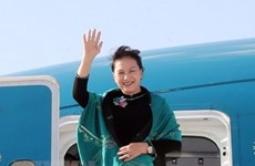 Máxima legisladora de Vietnam finaliza viaje para asistir a MSEAP 3 y visita a Turquía