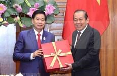 Relación Vietnam-Laos es única en el mundo, sostiene vicepremier vietnamita