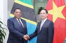 Vietnam promoverá entrada de productos y servicios tanzanos en mercados de ASEAN