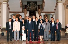 Ciudad Ho Chi Minh promueve relaciones de cooperación con Japón