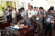 Sentencian a 19 individuos chinos y vietnamitas por juegos de apuestas
