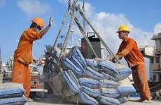 Aumento impresionante de exportación vietnamita de cemento y clínker en nueve meses