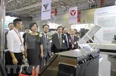Celebran en Hanoi exposición internacional de maquinarias