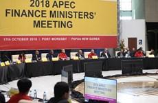 Ministros de finanzas del APEC proponen medidas para impulsar crecimiento