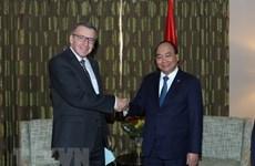 Premier vietnamita se reúne con ex canciller belga