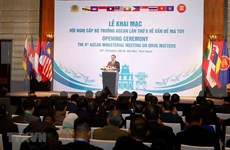Vietnam reafirma su compromiso en lucha contra drogas