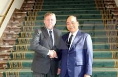 Premier vietnamita destaca cooperación parlamentaria con Bélgica