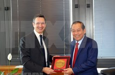 Vietnam e Italia promueven cooperación judicial
