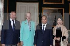 Premier de Vietnam continúa actividades en Dinamarca