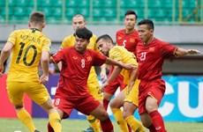 Selección sub-19 de Vietnam se despide del Campeonato asiático de fútbol