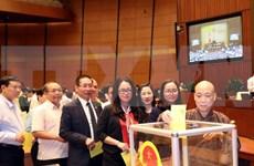 Nominación del Secretario General del PC de Vietnam como Presidente de Estado alcanza alto consenso de diputados