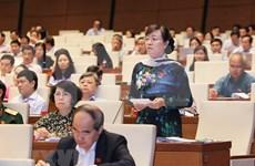 Parlamento de Vietnam analiza Ley de prevención y lucha contra corrupción