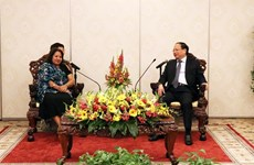 Delegación de Federación de Mujeres Cubanas visita Ciudad Ho Chi Minh