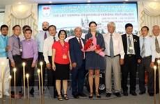 Efectúan en Ciudad Ho Chi Minh un encuentro en saludo al centenario de Checoslovaquia