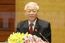 Líderes extranjeros enviaron mensajes de felicitación a nuevo presidente de Vietnam