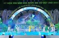 Inauguran Festival Nacional de Cultura, Deportes y Turismo en provincia norvietnamita de Ninh Binh