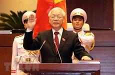 Reina Isabel II felicita a dirigente partidista y estatal de Vietnam