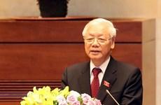 Continúan felicitaciones a nuevo presidente vietnamita por parte de gobiernos extranjeros