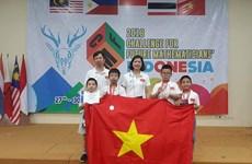 Vietnam triunfa en competencia de matemática en Indonesia