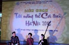 Celebran festival en Vietnam para revitalizar género musical tradicional de Ca Tru